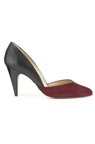 cacc6bd605 These elegant duo-colour heels from Whistles will do double-duty in your  wardrobe: wear with both day and night looks.