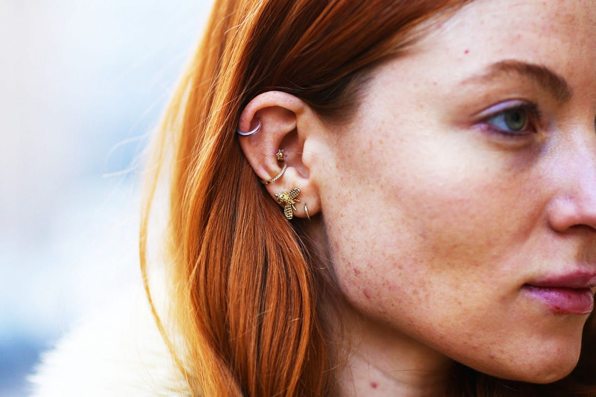 Unique And Beautiful Ear Piercing Ideas