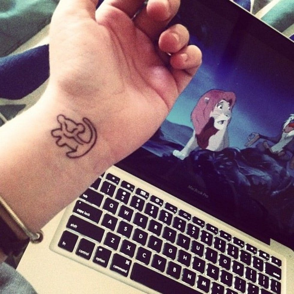 30 Discreet And Utterly Magical Disney Tattoos