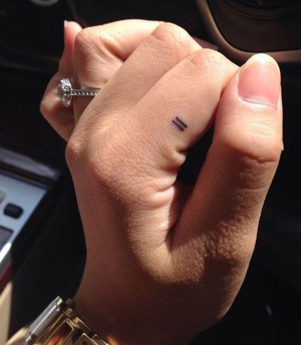 Simple Small Finger Tattoo Ideas