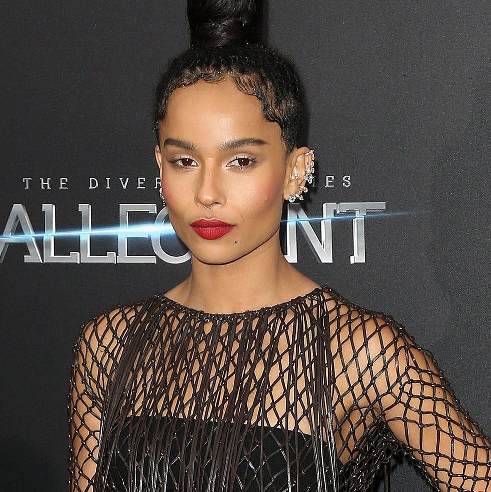 Zoe Kravitz Uk: Celebrities Who Rocked Ear Cuffs On The Red Carpet