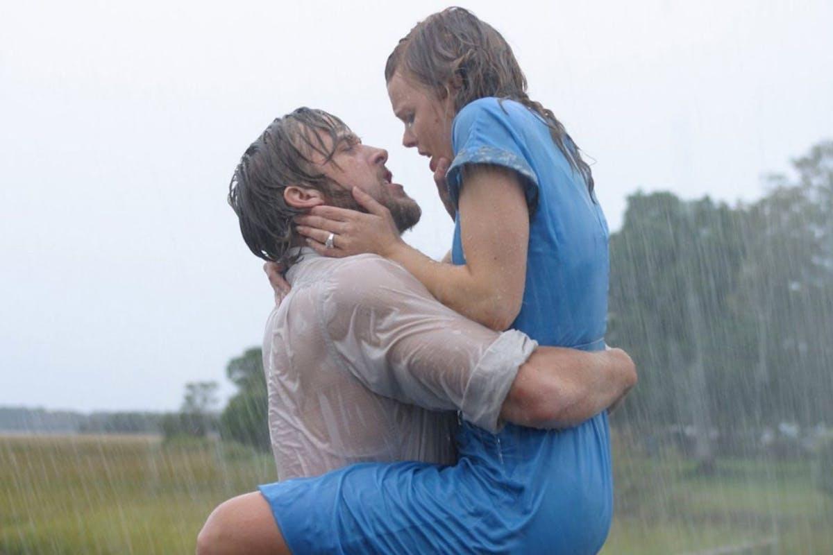 Rachel McAdams and Ryan Gosling in The Notebook