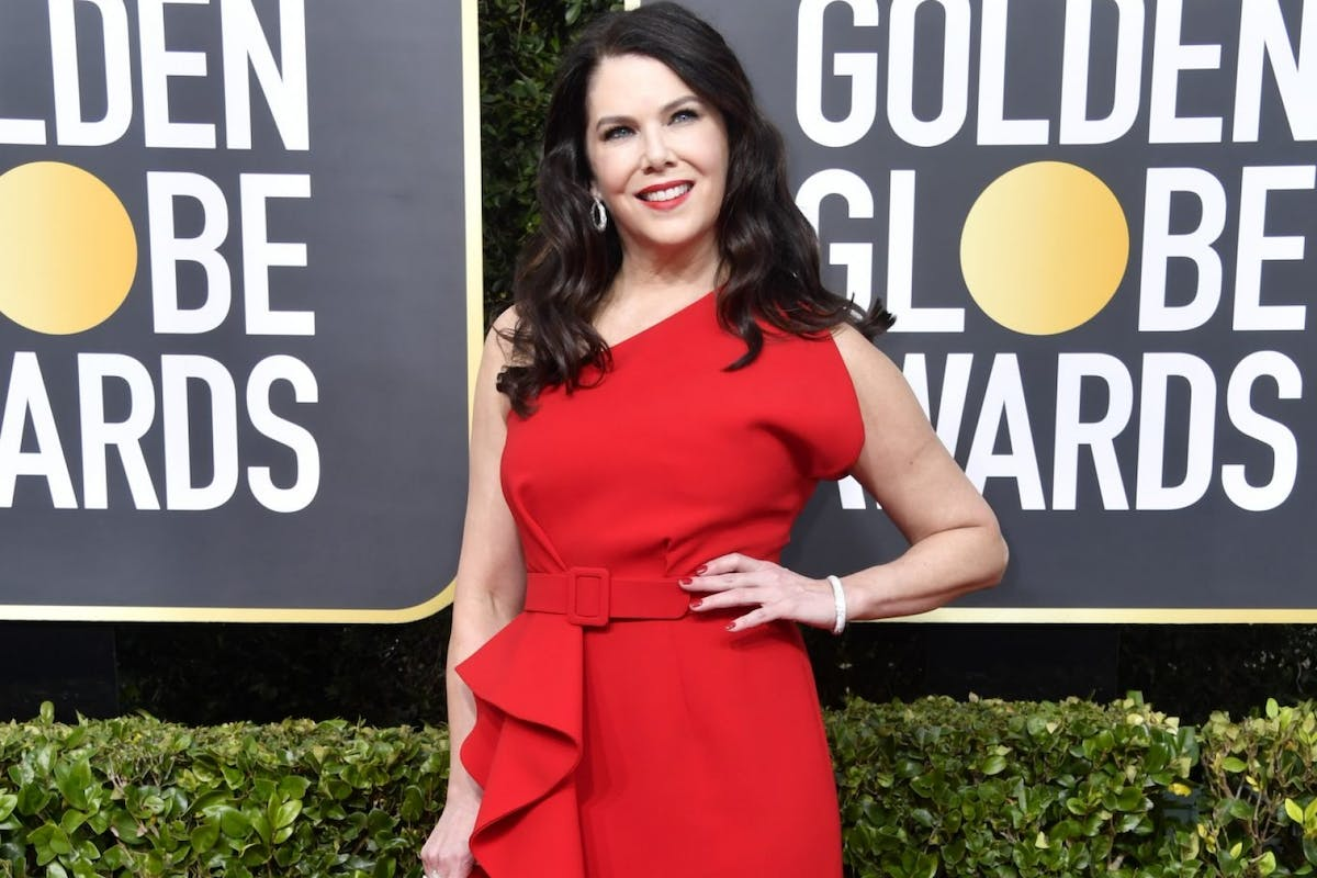Lauren Graham attends the 77th Annual Golden Globe Awards at The Beverly Hilton Hotel on January 05, 2020 in Beverly Hills, California. (Photo by Frazer Harrison/Getty Images)