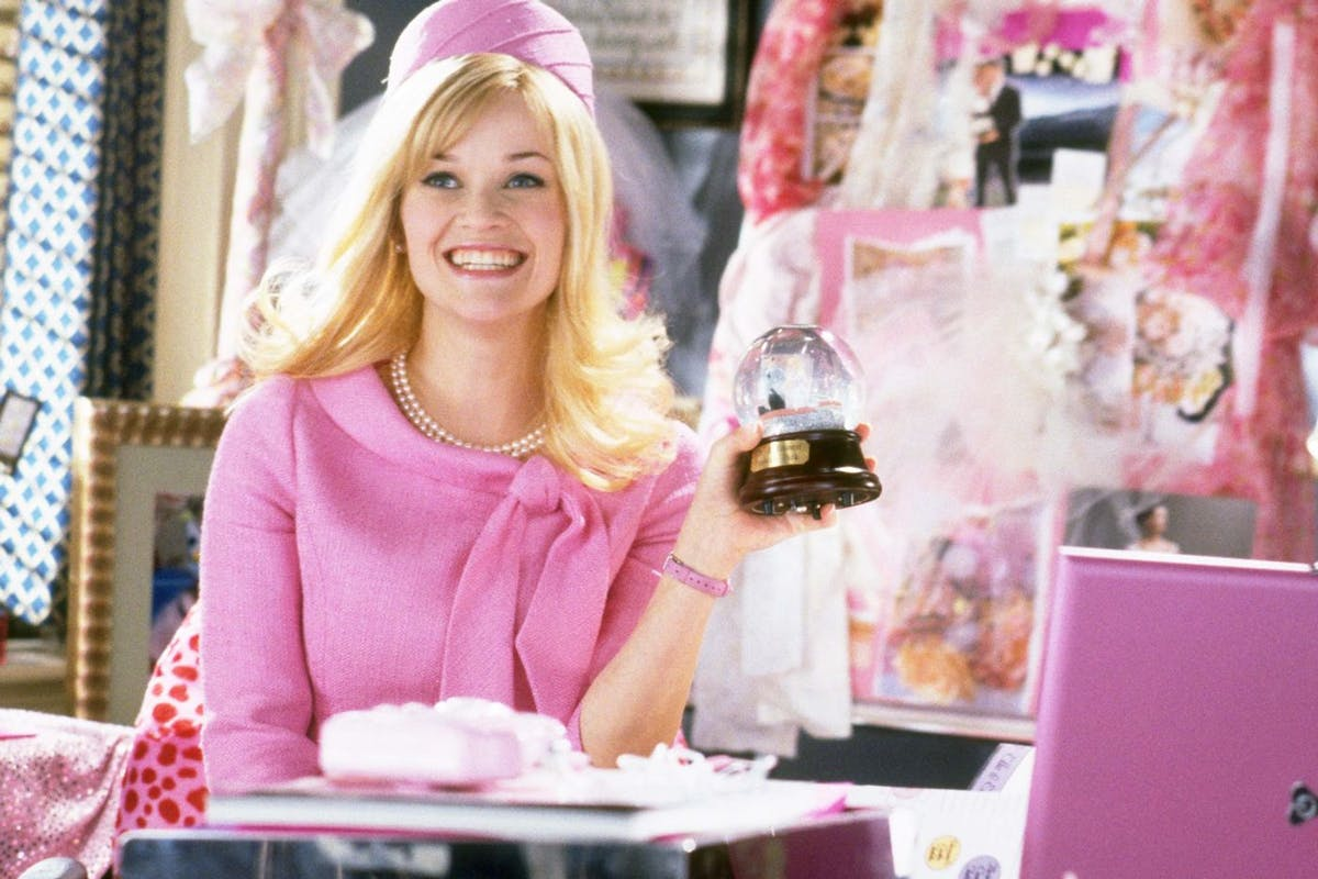 Reese Witherspoon as Elle Woods in Legally Blonde 2