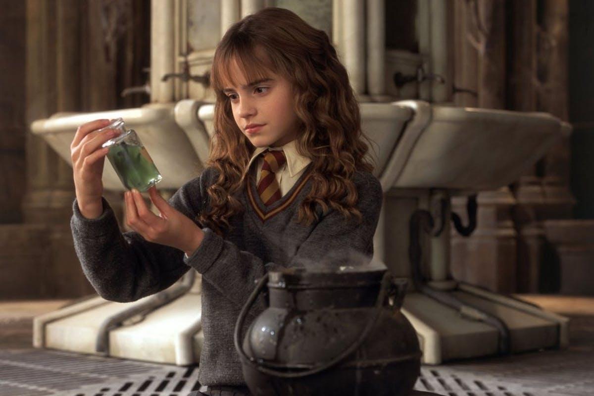 Emma Watson as Hermione in the Harry Potter film franchise