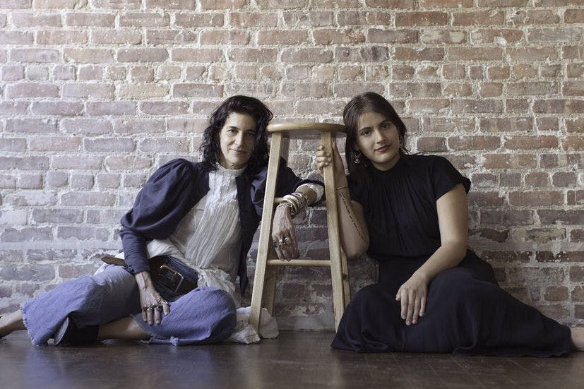 Elisa Goodkind and Lily Mandelbaum of the What's Underneath Project