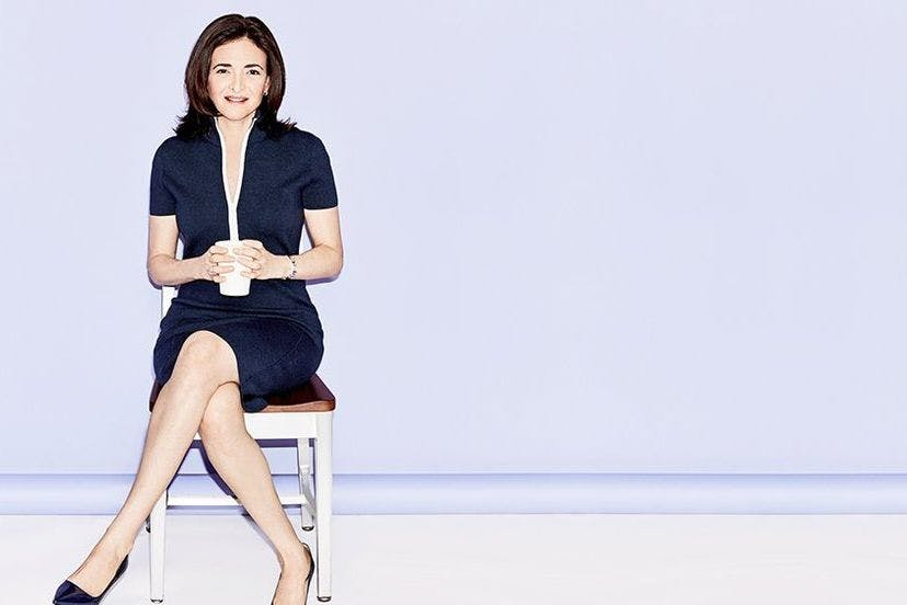"""We can shine a brighter light"""": Sheryl Sandberg is on a mission to"""