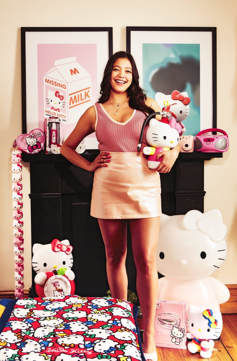 66d6a6ccf Kitty corner: Naomi has grown up with the brand since childhood