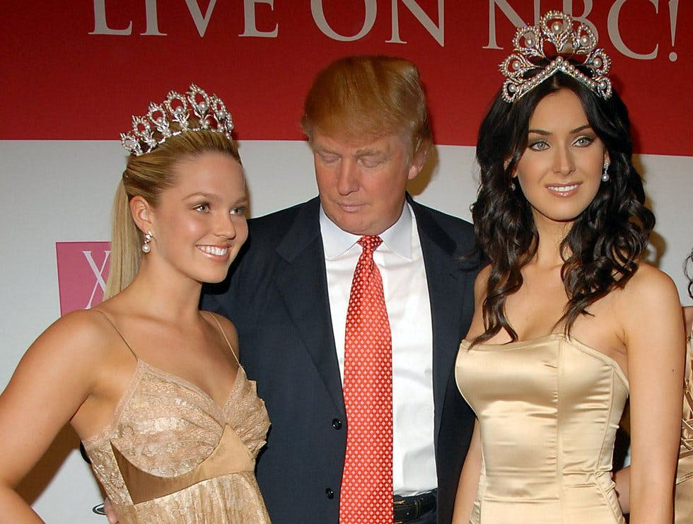 Image result for trump beauty pageant