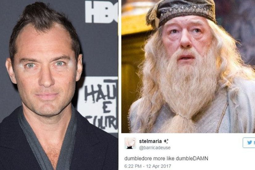 Jude Law has been cast as young Dumbledore – and Twitter has a lot of thoughts