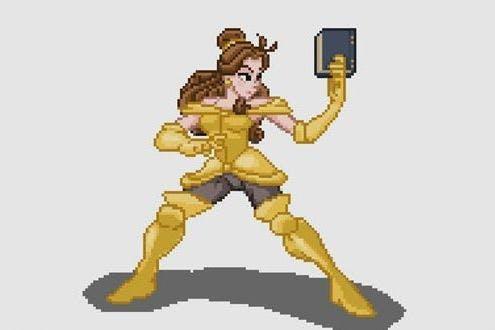 Disney Princesses As Kickass Street Fighter Ii Characters
