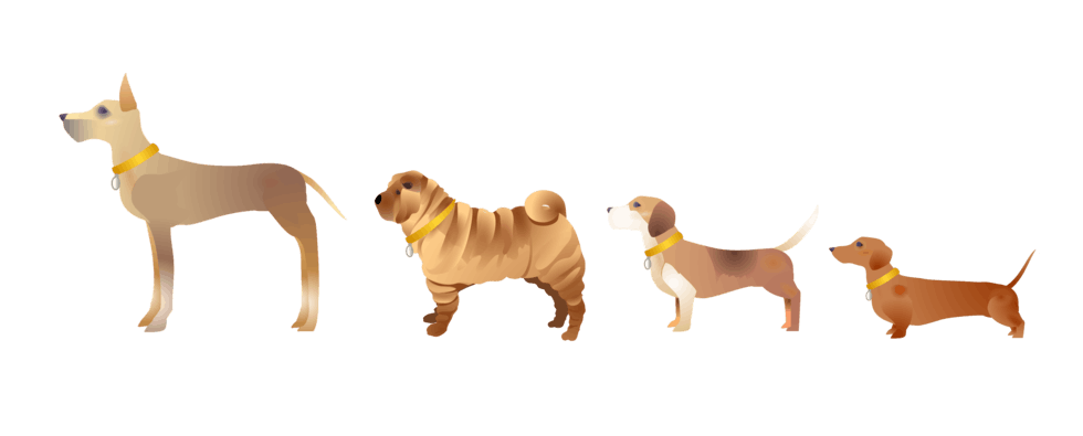 The dog emoji range is here and it has 23 of your favourite breeds