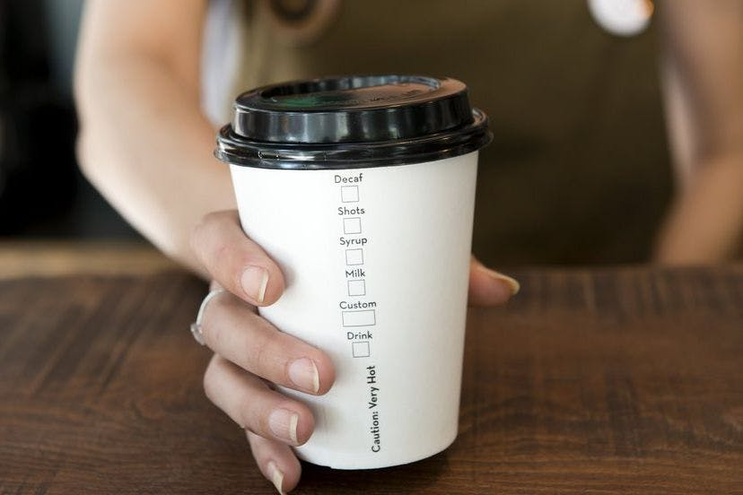 Image result for takeaway coffee