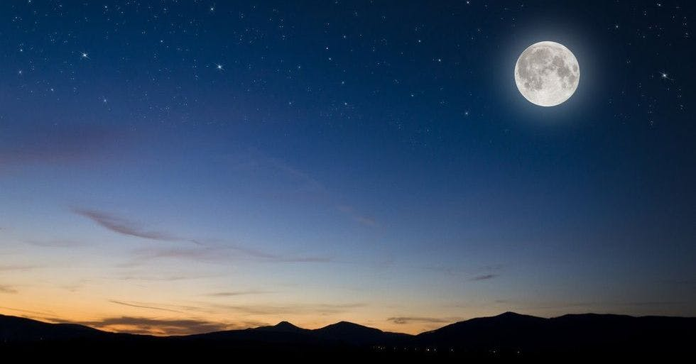 Here's how this Friday's Strawberry Full Moon could affect you