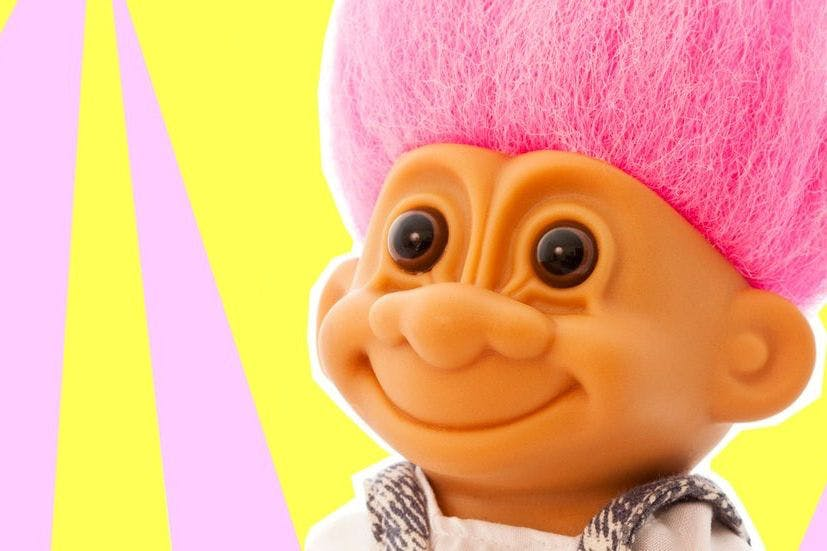 How much money your old Troll Dolls are worth on eBay