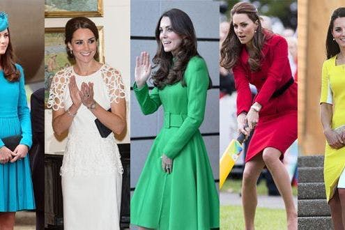 597407c72e Kate Middleton's best outfits from the Royal tour