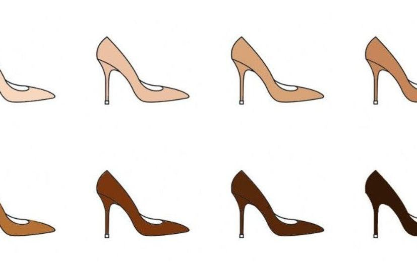 dd98ea91afb This new British shoe brand has nude heels to suit every skin tone