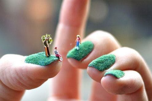Cool Nail Art From Flickr Photographer Alice Bartlett