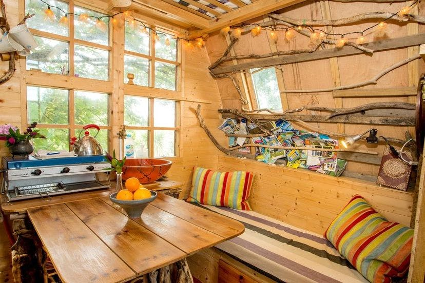 Air bnb's top ten most wish-listed listings in the UK