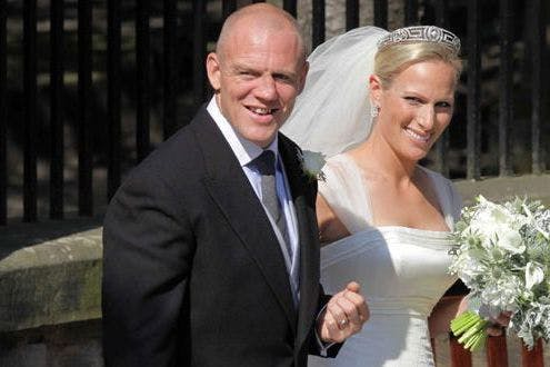 In Pictures: Zara Phillips And Mike Tindall Wedding