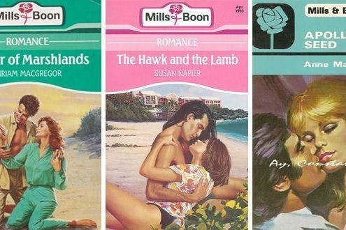 Retro erotic fiction: the best old-school Mills & Boon titles