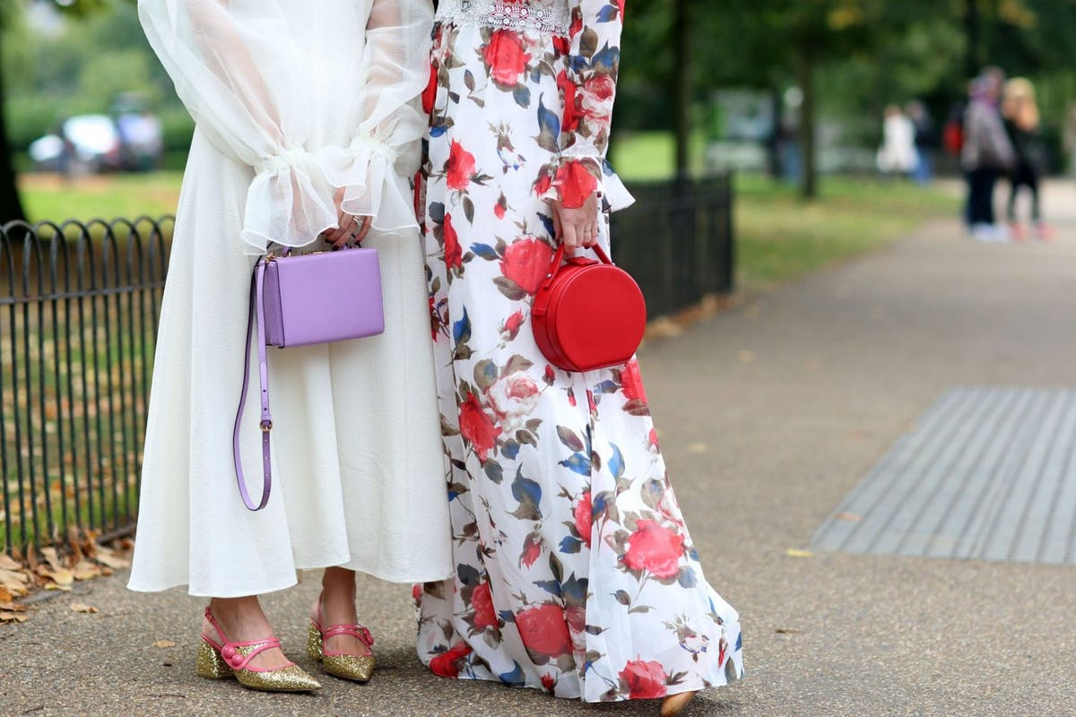 colourful bags street style