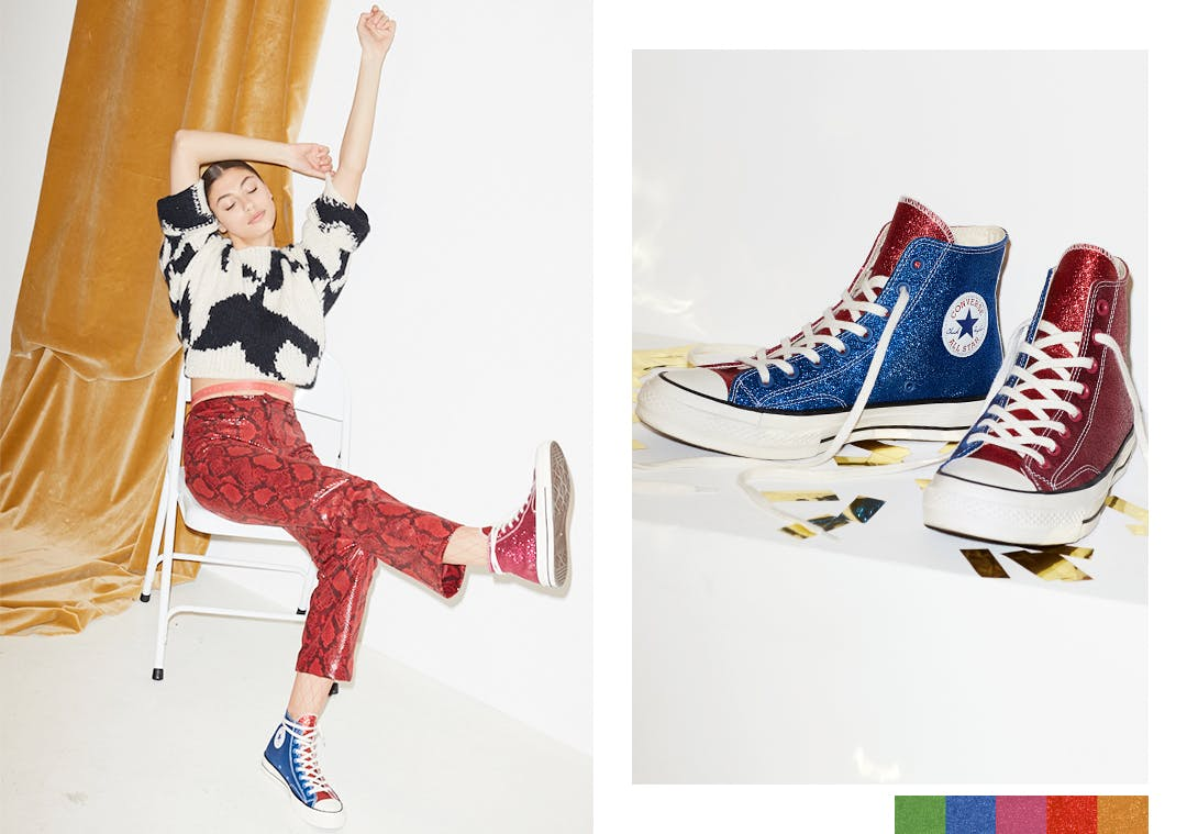 b957aaa540c5 Bringing together Converse's timeless street-style and couture label JW  Anderson, the hottest partnership this season is for your feet.