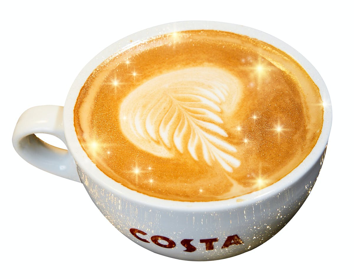 Costa Coffee Is Launching Shimmer Coffee For Christmas