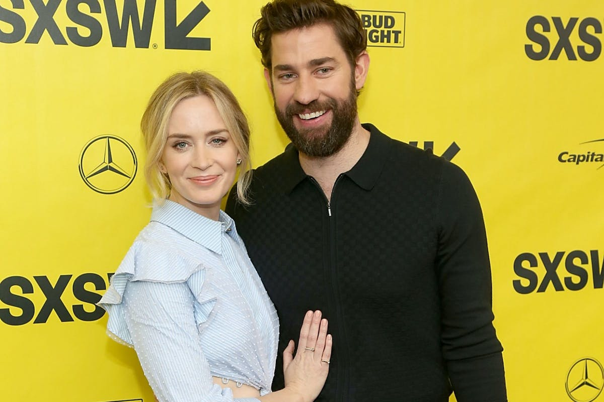 John Krasinski Emily Blunt Wedding.John Krasinski On How Working With Emily Blunt Impacted