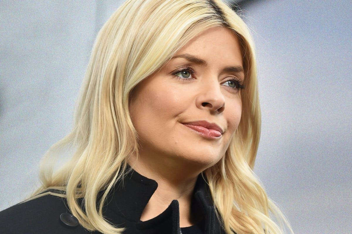 LONDON, ENGLAND - MARCH 05: Holly Willoughby seen at the ITV Studios on March 5, 2018 in London, England. (Photo by HGL/GC Images)