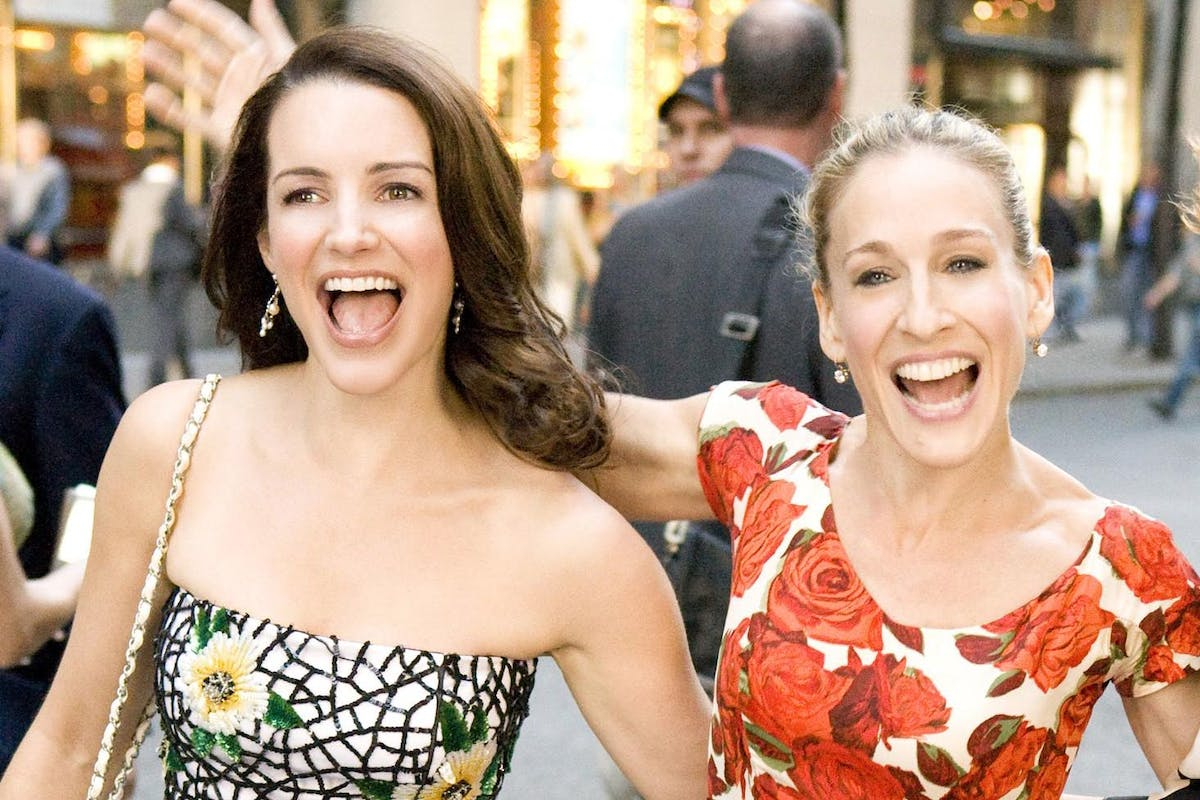 Charlotte and Carrie in Sex and the City