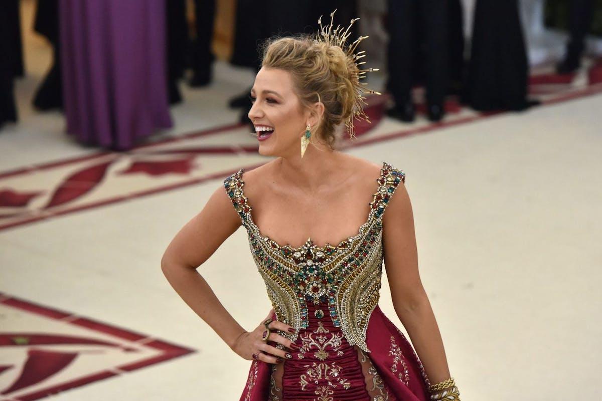 Blake Lively at the Met Gala