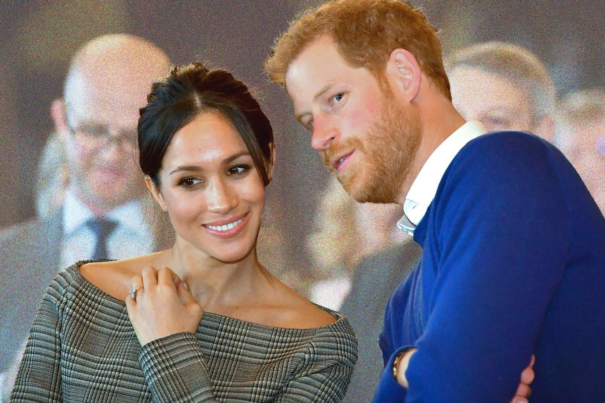 Meghan Markle and Prince Harry in the run-up to the royal wedding