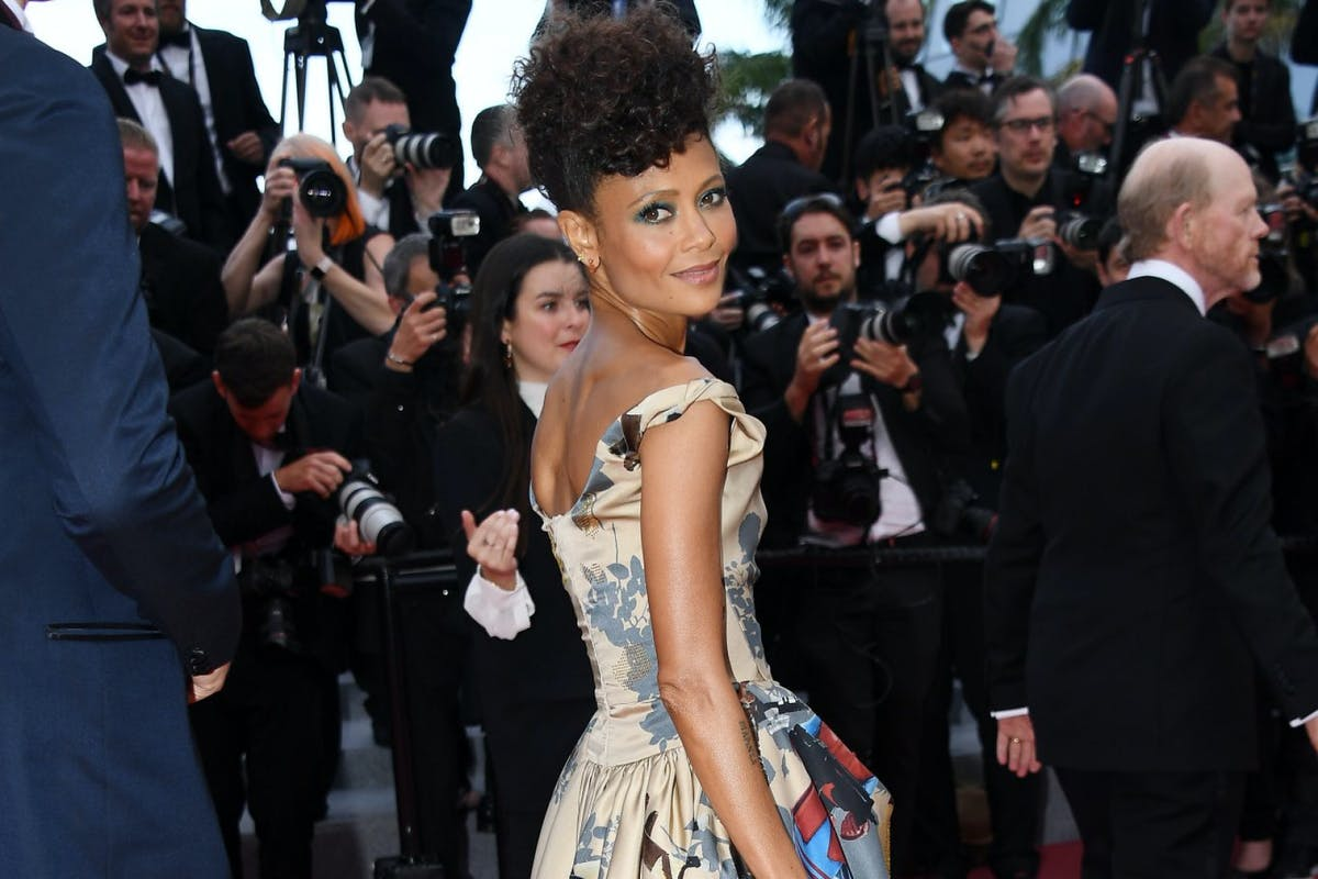 CANNES, FRANCE - MAY 15: Actress Thandie Newton attends the screening of 'Solo: A Star Wars Story' during the 71st annual Cannes Film Festival at Palais des Festivals on May 15, 2018 in Cannes, France. (Photo by Dominique Charriau/WireImage)