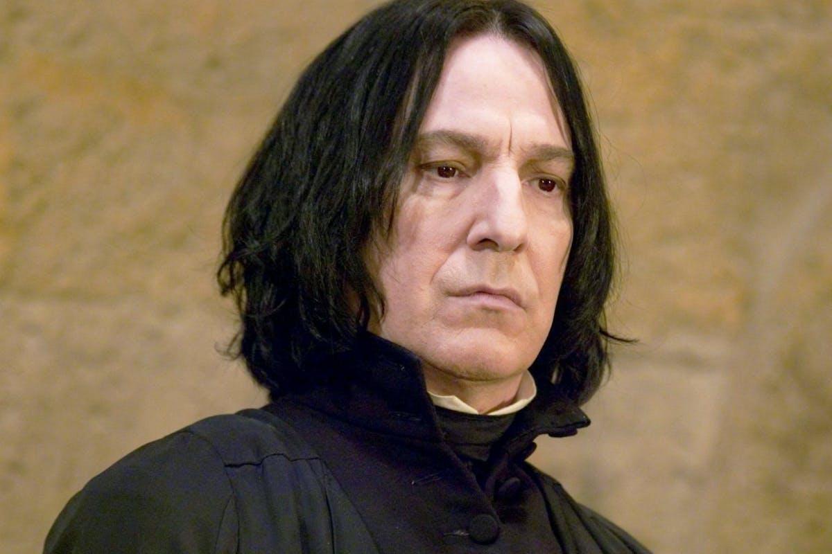 Harry Potter: Alan Rickman as Severus Snape