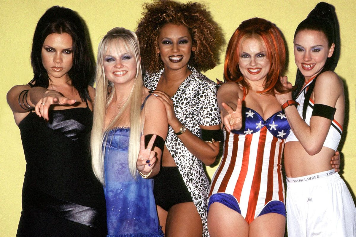 The original Spice Girls line-up, back in the '90s