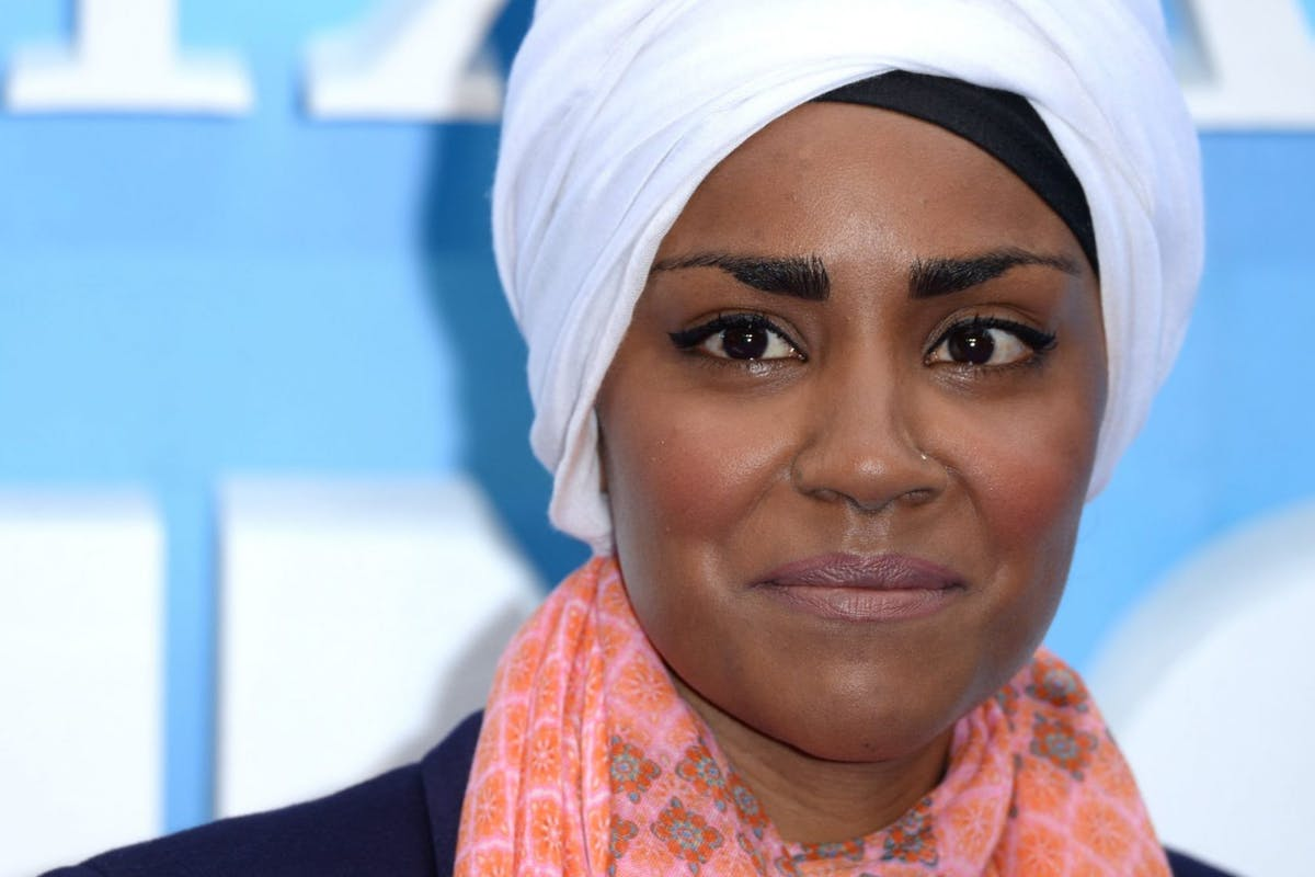LONDON, ENGLAND - JULY 10: Nadiya Hussain attends the UK Premiere of 'Finding Dory' at Odeon Leicester Square on July 10, 2016 in London, England. (Photo by Anthony Harvey/Getty Images)