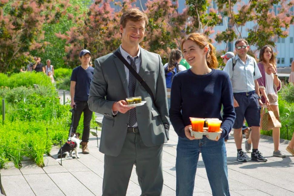 Netflix's Set It Up: Glen Powell and Zoey Deutch