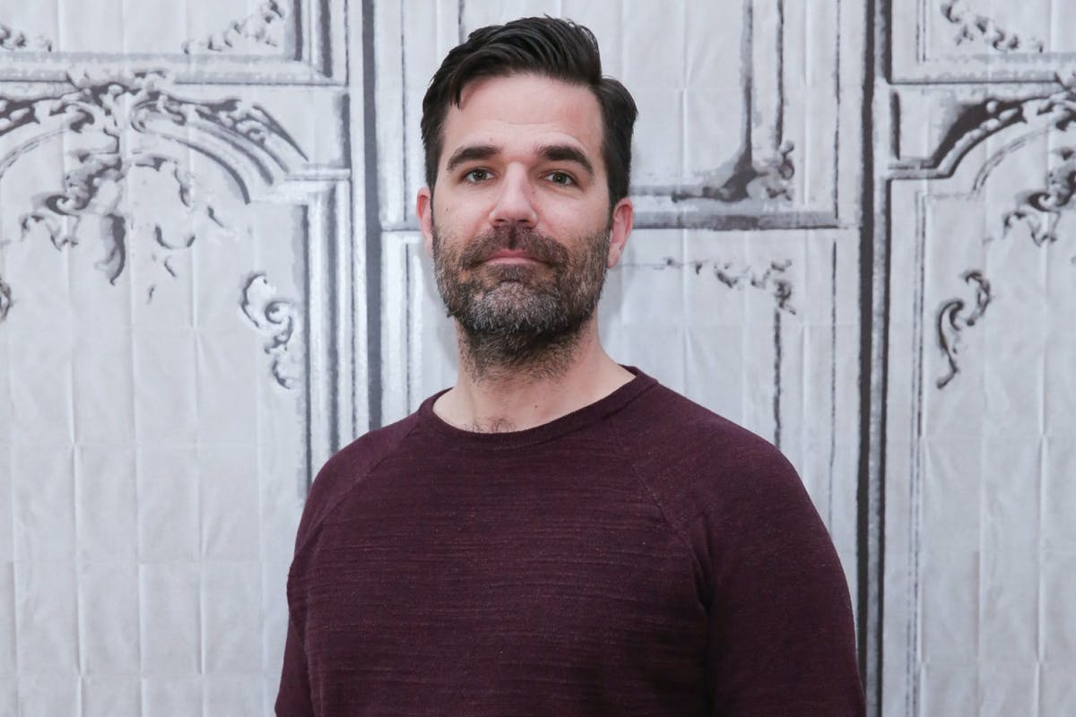 NEW YORK, NEW YORK - APRIL 06: Rob Delaney attends the AOL Build Speaker Series to discuss 'Catastrophe' Season 2 at AOL Studios In New York on April 6, 2016 in New York City. (Photo by Rob Kim/Getty Images)