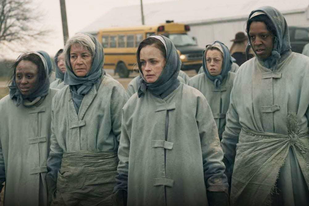 Alexis Bledel as Emily, The Handmaid's Tale, Season 2