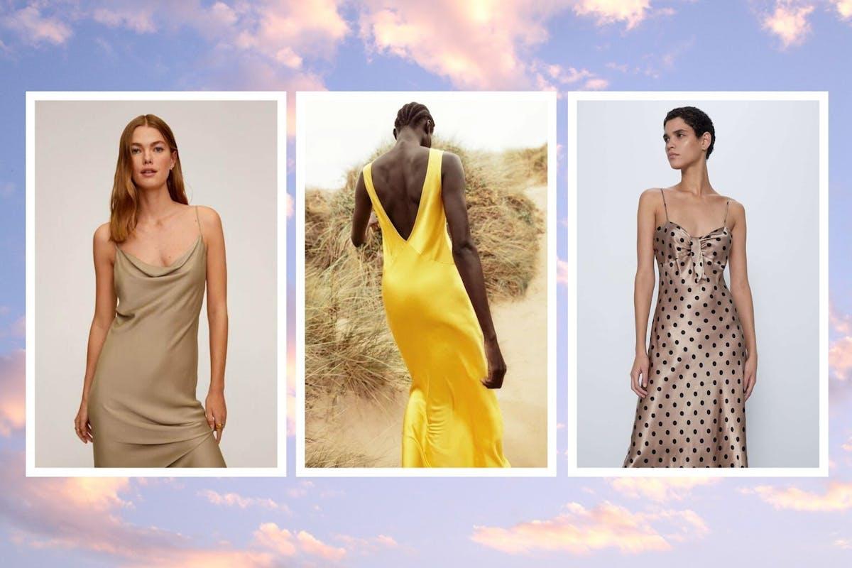 best slip dresses