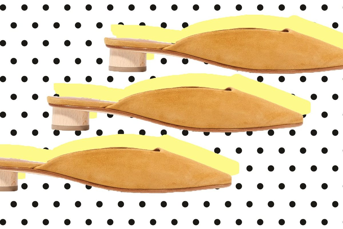 opening image of yellow shoes