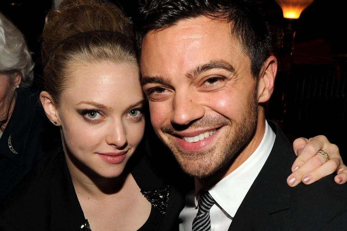 NEW YORK - APRIL 25: Actress Amanda Seyfried and actor Dominic Cooper attend the 'Letters To Juliet' after party during the 2010 Tribeca Film Festival at La Botega on April 25, 2010 in New York City. (Photo by Bryan Bedder/Getty Images for Tribeca Film Festival)