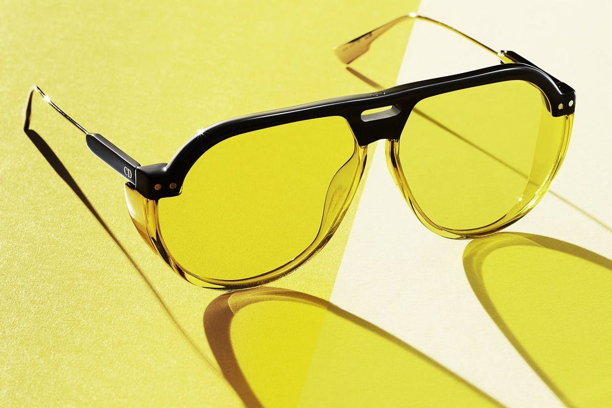 Dior sunglasses eyewear accessories yellow investment classic statement colour sunshine holiday wardrobe