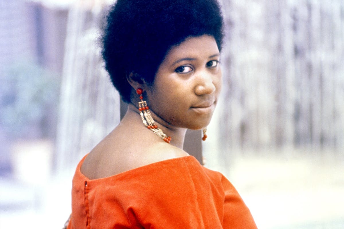 Picture of soul legend Aretha Franklin, who passed away on 16 August 2018 at the age of 76,