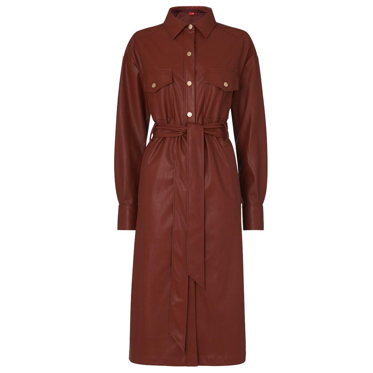 ec572022b4ec Vegan leather dress, £165, kitristudio.com