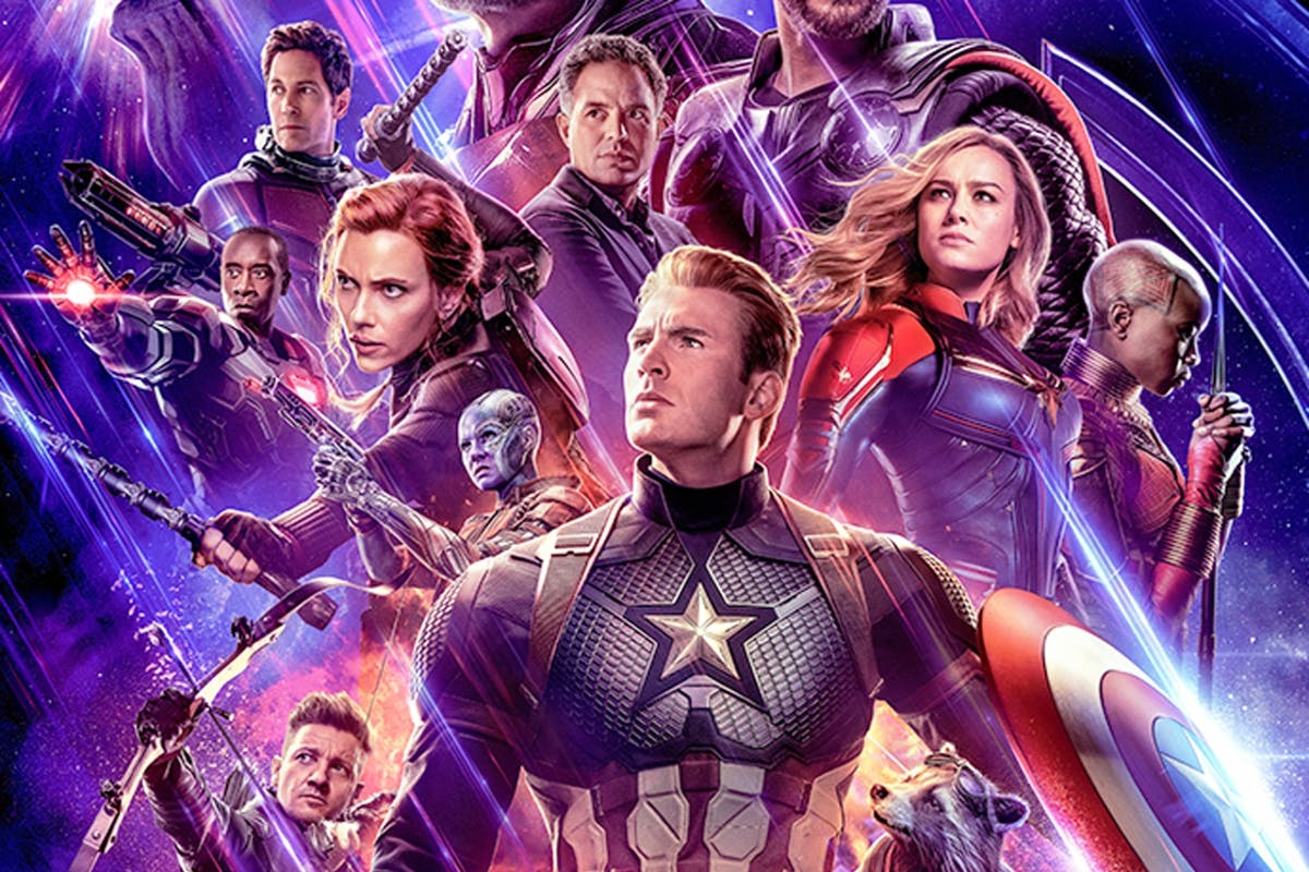 Marvel Avengers Endgame poster and trailer