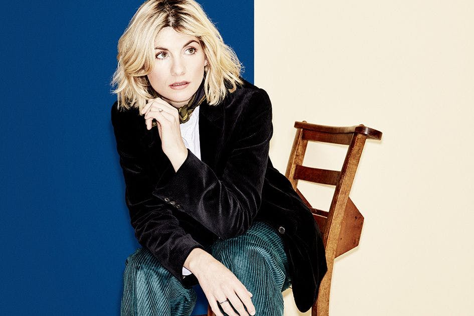 Doctor Who's Jodie Whittaker in Stylist magazine