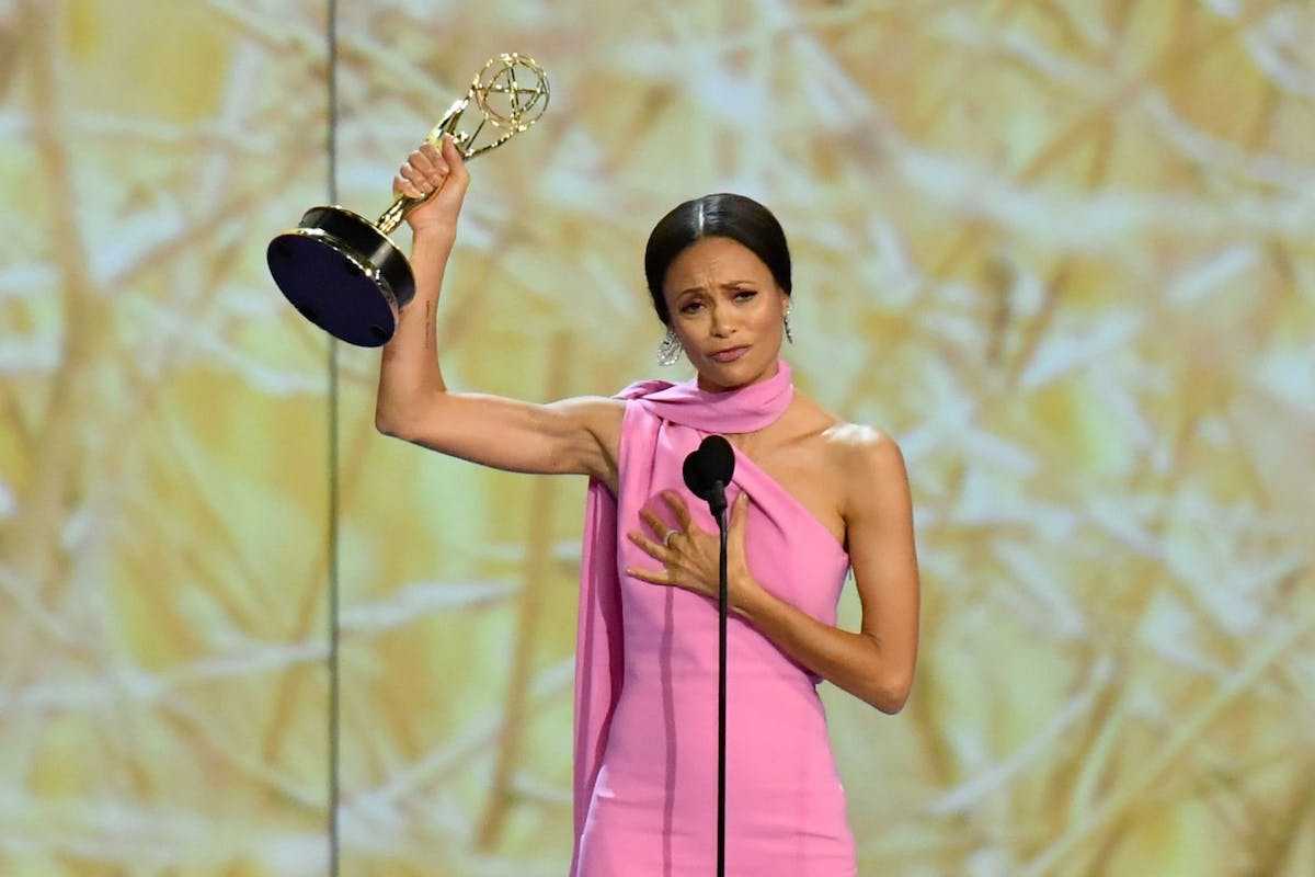 Emmy Awards 2018: this is what got bleeped out of Thandie Newton's speech