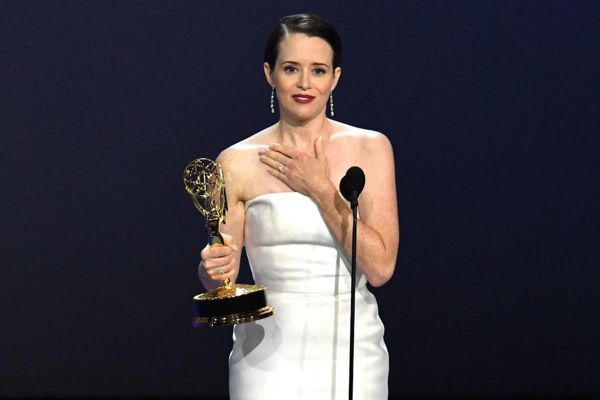 The Crown's Claire Foy says Sandra Oh should have won her Emmy